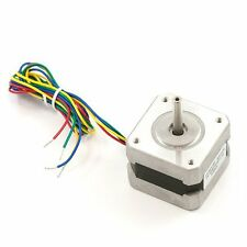 Stepper Motor with Cable 12V NEMA 17 Mercury Bipolar 4-wire cable Robotics motor