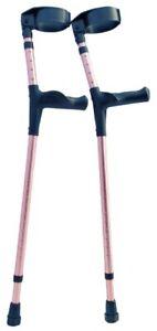 "OrthoStix Lofstrand Canadian Elbow Forearm Crutches 3 1/2"" FULL Cuff - ADULT"