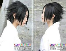HOKAGE-Uchiha Sasuke/DEATH NOTE Stylish Black Cosplay Wig