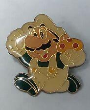 Vintage Nintendo of America 1988 LUIGI Running With Mushroom Pin