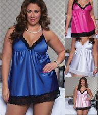 Sexy Lingerie Underwear Babydoll Plus Size Lingerie Camisole Nightwear Pyjamas
