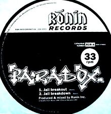 "12"" - Paradox - Jail Breakout (Breack Dance) NUEVO - NEW, STOCK STORE LISTEN"