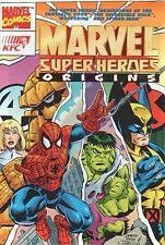 SPIDERMAN GIVEAWAY PROMO MARVEL SUPER HEROES ORIGIN KFC FRENCH VARIANT RARE