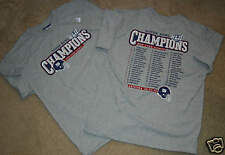 BRAND NEW YORK GIANTS SUPER BOWL CHAMPS ROSTER SHIRT GRAY YOUTH BOYS XL 18 16 14