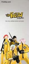 "3A THREEA Popbot Yellow Hornet 1/6th 4 Figure Set Ashley Wood Design ""US Seller"""