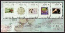 Nueva Zelanda 2005 150 Años De N. Z. Sellos Miniatura Hoja Menta desmontado, Mnh
