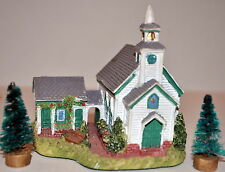 1996 Liberty Falls ~ The Americana Collection ~ Pioneer's Church Ah108 Mib