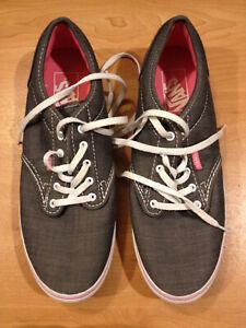 Vans Atwood Low grey skate shoes Low style #VN-0U4IDIH Sneaker Gray Women's Sz 8