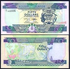 SOLOMON ISLANDS 50 Dollars 1996 UNC P 22