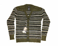 Diesel Button-Front Striped Men's Jumpers & Cardigans