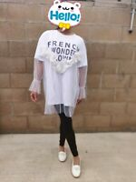 Women Girl Summer Spring Fashion Korean Tops Loose Short Sleeve T-shirt Style