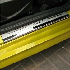 S/S Door Sill Panel Kick Scuff Plate Protector for Ford Focus 12-17 LW LZ