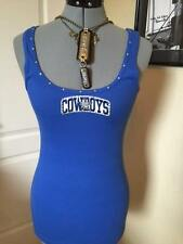 FOOTBALL TEAM TANKS ALL TEAMS ALL SIZES  DALLAS COWBOYS BLUE