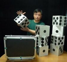 Large Dice Production Case Illusion -Stage Magic,Magic Trick