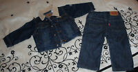 Levi Strauss Jean Outfit Boys Size 12 Months