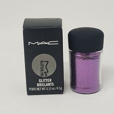New Authentic Mac Glitter Brillants Heliotrope 4.5g