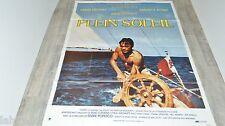 alain delon PLEIN SOLEIL ! affiche cinema , voilier , bateau