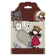 Gorjuss Purrrrrect Love Doll Stamp Set by London Santoro