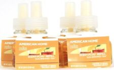 4 American Home By Yankee Candle Sun Brewed Tea Room Filling Scent Plug Refills