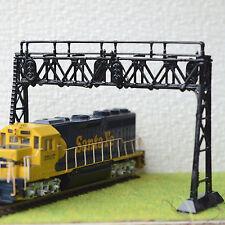 1 x HO / OO scale Signal Bridge 3 aspects led lights Double Track Left Hand new
