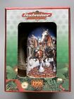 New 1998 Budwiser Holiday Beer Stein, Grants Farm Holiday