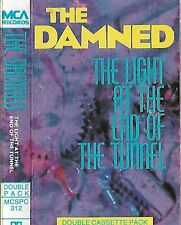 The Damned Light At The End Of The Tunnel CASSETTE 2 only  ALBUM Goth Rock, Punk
