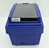 """Vintage Purple 3.5"""" 3 1/2 inch Floppy Diskette Disk Holder Storage Box"""