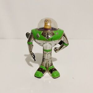 Buzz Lightyear Silver Toy Story Pixar Vintage 2001 McDonald's Figure Toy