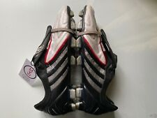 Adidas Predator Powerswerve FG UK 12.5 White/Black/Red Football Boots