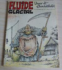 BD BANDE DESSINEE MENSUEL FLUIDE GLACIAL N° 113 EO NOVEMBRE 1985