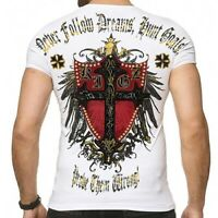 Kingz Rioter T-shirt hommes noir Clubwear Tous Taille Neuf