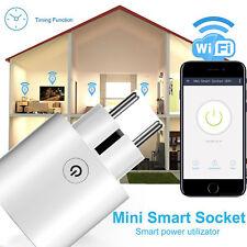 Smart Steckdose WIFI WLAN Amazon Alexa Fernbedienung Home Socket Zeitschaltuh EU