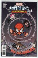 "Super-Hero Adventures #1 ""Web Designers"" Marvel Comics (1st Print 2019) NM"