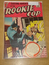 ROOKIE COP #32 FN+ (6.5) CHARLTON COMICS MAY 1957