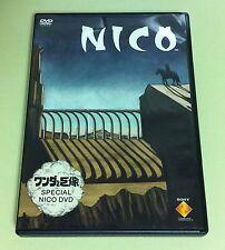 Wanda to Kyozou SPECIAL NICO DVD ( Shadow of the Colossus ) Promo JAPAN USED