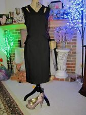 Karen Millen (UK16/US12) Black Pencil Dress! Gorgeous!!!