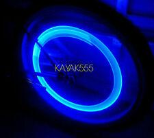4 X BLUE LED VALVE STEM RIM TIRE LIGHTS FITS AUDI BMW CADILLAC DODGE FIAT ETC..