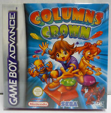 COLUMNS CROWN - SEGA NINTENDO GBA GAME BOY ADVANCE BOXED