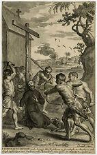 Antique Print-HISTORY-MURDER BEUDIN-JESUIT-MEXICO-Diepenbeek-Lommelin-1668