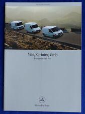 Mercedes-Benz Transporter - Vito Sprinter Vario - Prospekt Brochure 08.2000