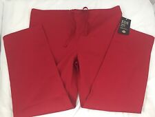 Dickies Everyday Scrubs EDS Unisex Pants Red Size M 850106