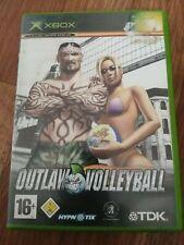 Outlaw Volleyball-Microsoft Xbox -16+ jeu-CIB Très bon état PAL
