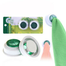 2x Wash Cloth Clip Holder Dishclout Storage Rack Towel Clips Bathroom Storage EB