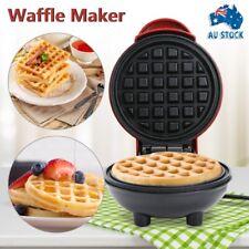 New 1PC Mini Pancake Waffle Maker Grill Electrical Breakfast Cake Oven Machine
