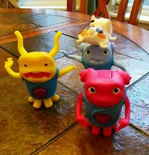 """Dreamworks """"HOME"""" Action Figures Lot Of Three McDonalds 2015 ~ Excellent!"""
