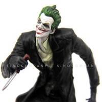 "Xmas Gift 6""DC Comics Arkham origins Batman Direct The joker Statue figure FK366"
