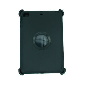 For Apple iPad mini 2/3 Case Cover w/(Stand Fits Otterbox Defender ) Black