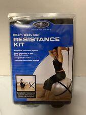 New Athletic Works 65cm Body Ball Resistance Kit - Yoga/Pilate
