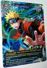Carte Naruto Uzumaki Custom Collectible Card Game CCG Foil Fancard  #2