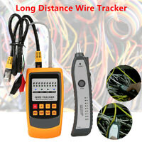 Car Cable Long Distance Wire Tracker Network Circuit Finder Tester Detector Kit